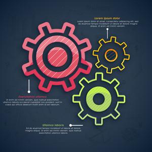 Technology Infographics Settings Website