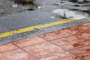 Urban Textures road wet .