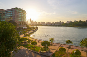 View of Putrajaya lake side