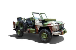 vintage Military utility vehicle