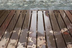wet brown wood texture background