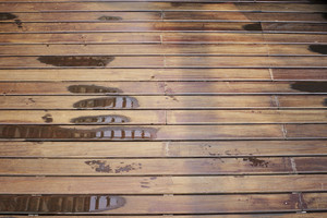 wet brown wood texture background