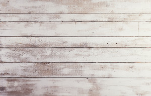 White wooden boards with texture as background