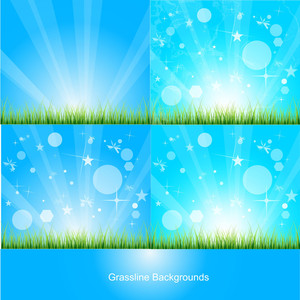 Grassline Background