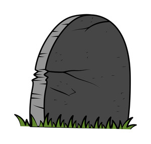Grave - Halloween Vector Illustration