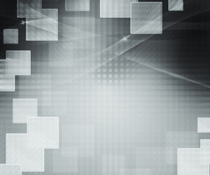 Gray Abstract Squares Background