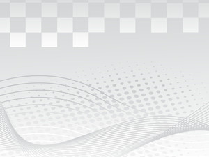 Gray Background With Wave And Dotted