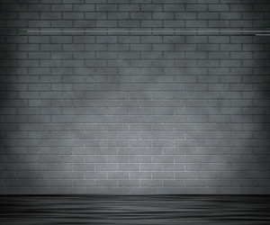 Grunge Gray Brick Wall Background Royalty Free Stock Image