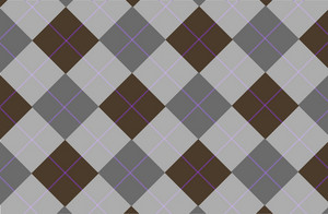 Gray Brown Tartan