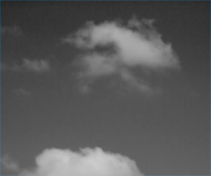Gray Sky Background