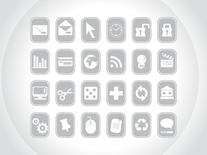 Gray Small Icons