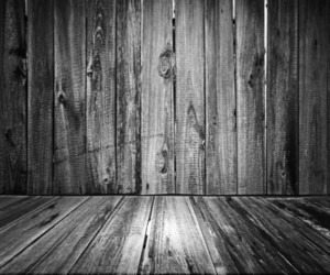 Gray Wooden Floor Background