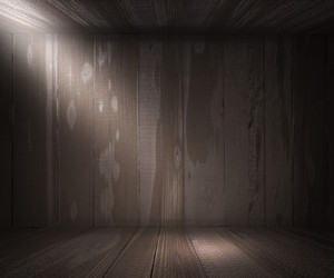 Gray Wooden Spotlight Room Background Texture