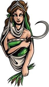 Greek Mythological Vector Element
