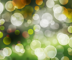 Green Abstract Bokeh Background