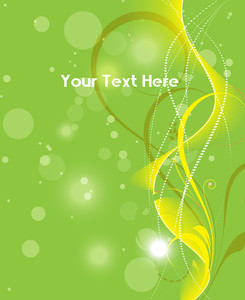 Green Abstract Design Background