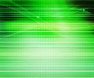 Green Abstract Lines Background