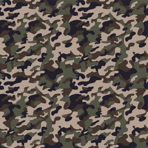 Green And Brown Camouflage Pattern
