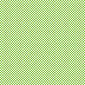 Green And White Checkerboard Minecraft Pattern