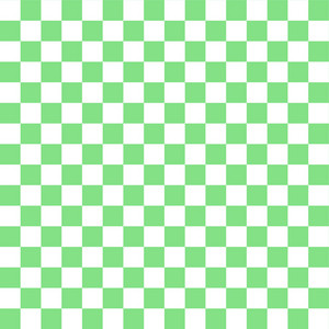 Green And White Checkerboard Pattern