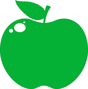 Green Apple Shape
