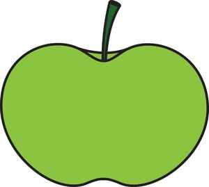Green Apple Shape