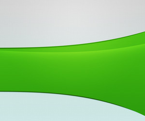 Green Arc Shapes Simple Background