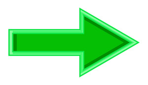 Green Arrow Shape