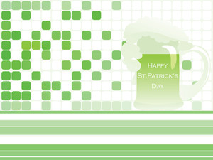 Green Background For St.patrick Day 17 March