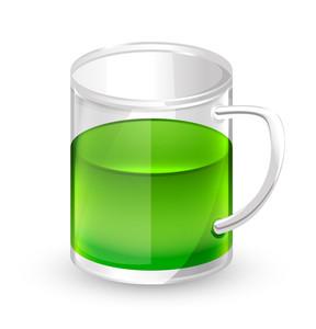 Green Beer Cup Vector