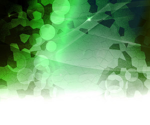 Green Biological Abstract Background
