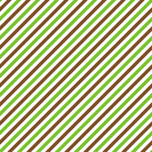 Green, Brown, And White Diagonal Striped Minecraft Pattern