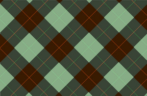 Green-brown Tartan Backdrop