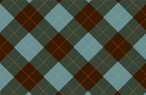 Green Brown Tartan