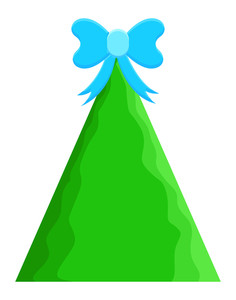 Green Christmas Tree Gift