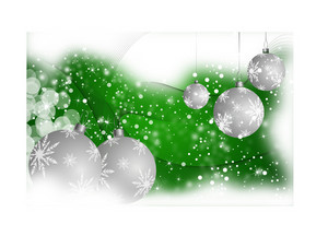 Green Christmas Vector