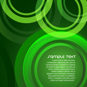 Green Circles Design