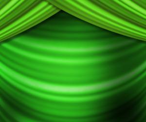 Green Curtain Spotlight Texture
