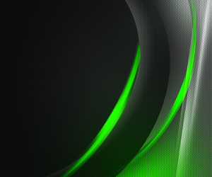 Green Dark Tech Abstract Background
