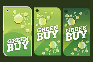Green Eco Tags