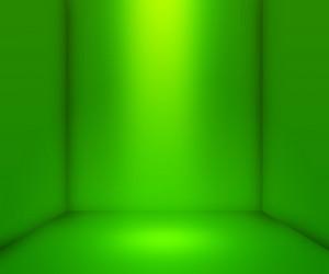 Green Empty Interior Background