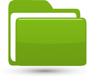 Green Folder Lite Application Icon
