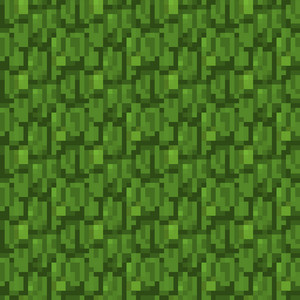 Green Forest Minecraft Pattern