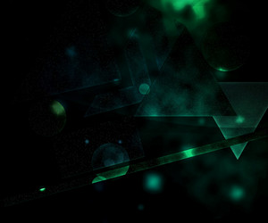 Green Futuristic Background