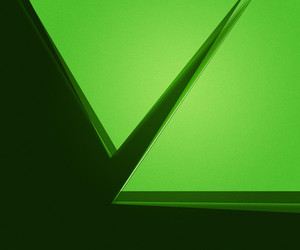 Green Geometric Abstraction Background