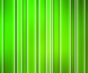 Green Glowing Stripes Background