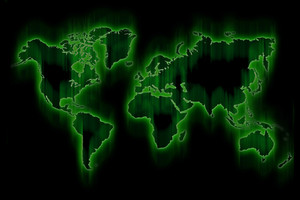 Green Glowing World