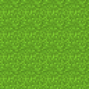 Green Grass Minecraft Pattern