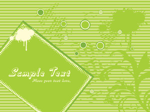 Green Grunge Background With Creative Design