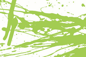 Green Grunge Splash